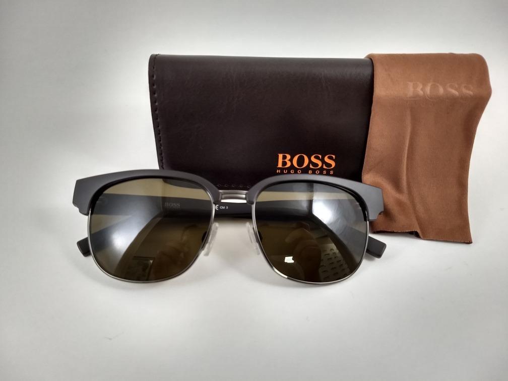f7014d18e Óculos De Sol Hugo Boss Marrom Bo 0234 S - R$ 399,00 em Mercado Livre