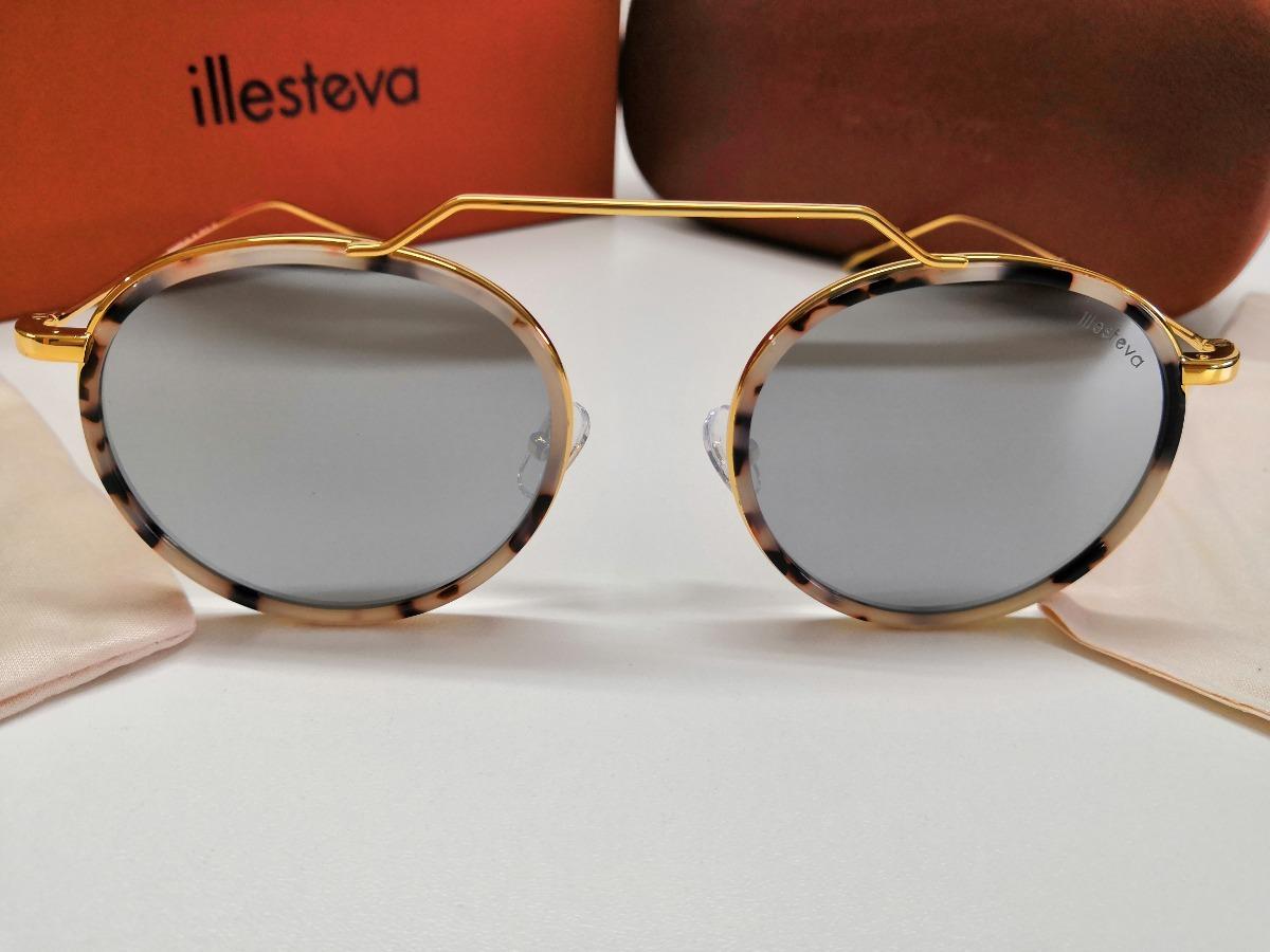 8530cb326 Óculos De Sol Illesteva Wynwood Ace Prata Espelhado - R$ 990,00 em ...