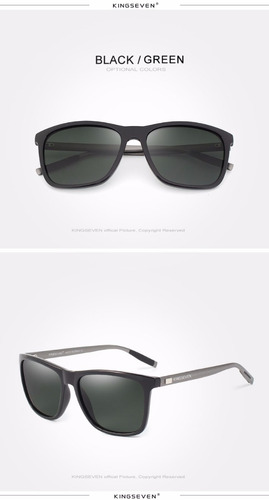 óculos de sol importado kingseven® com lentes polarizadas
