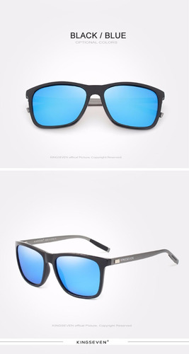 óculos de sol importado kingseven® lentes polarizadas oferta