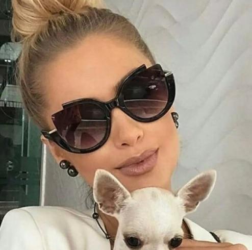 6bddd20f4295c Óculos De Sol Importado Luxuoso Moderno Coleção 2019 Fashion - R  49 ...