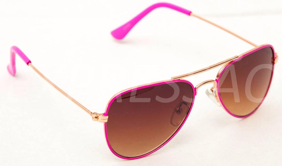 óculos de sol infantil a juvenil feminino proteção uv400. Carregando zoom. 20095d3261