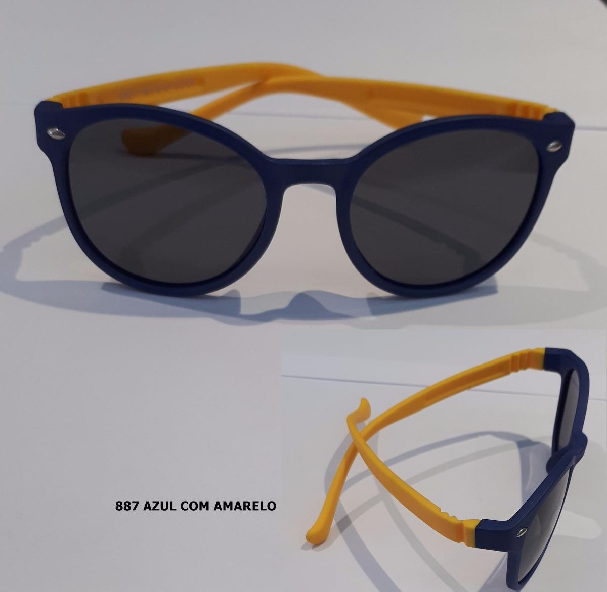 Oculos De Sol Infantil Aste Flexivel - R  50,00 em Mercado Livre 8602f825a6