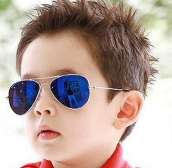 fbf41f4c474dc Óculos De Sol Infantil Aviador - R  15,00 em Mercado Livre