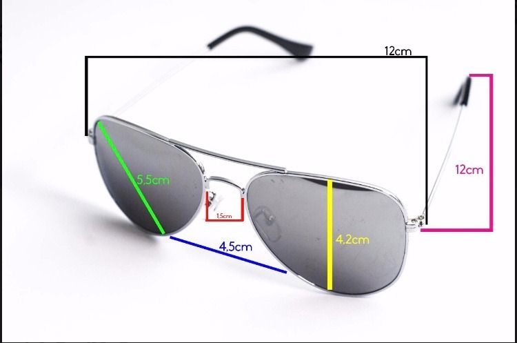 bcaf6ef3eddce Óculos De Sol Infantil Aviador Proteção Uv Menina E Menino - R  29 ...