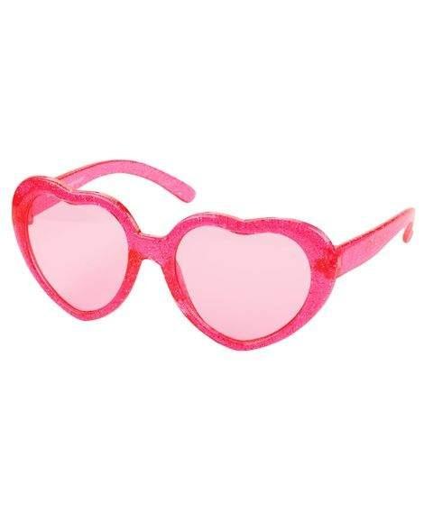 Óculos De Sol Infantil Carters Coração Rosa Glitter 4-8anos - R  59 ... 2014a670ca
