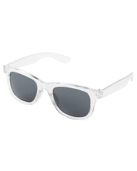 58db8add0 Óculos De Sol Infantil Carters Prata Baby 0-2 Anos Original - R$ 59 ...
