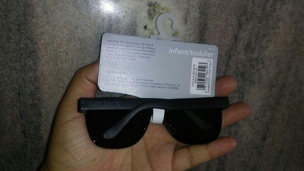 óculos de sol infantil com proteção solar importado carters. Carregando  zoom. 5ff5df3bee