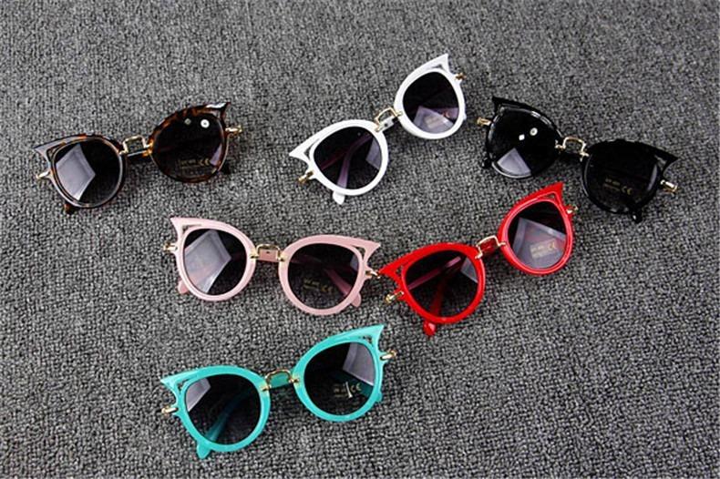 8b7d87edd Óculos De Sol Infantil Com Proteção Uv Criança Menina Oferta - R$ 53 ...