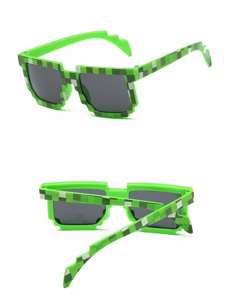 óculos de sol infantil divertido geek minecraft com estojo! Carregando zoom. 39ee853b58