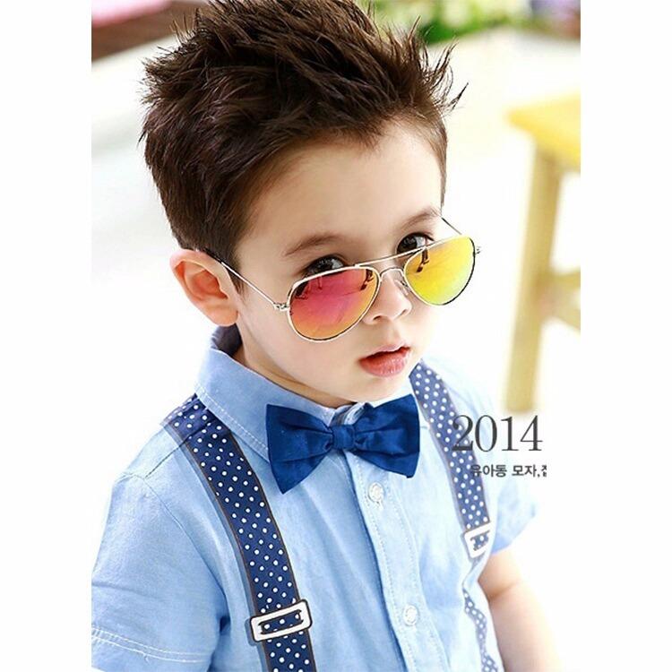 4221535be Óculos De Sol Infantil Espelhado Uv 400 Aviador + Brinde - R$ 26,49 em Mercado  Livre