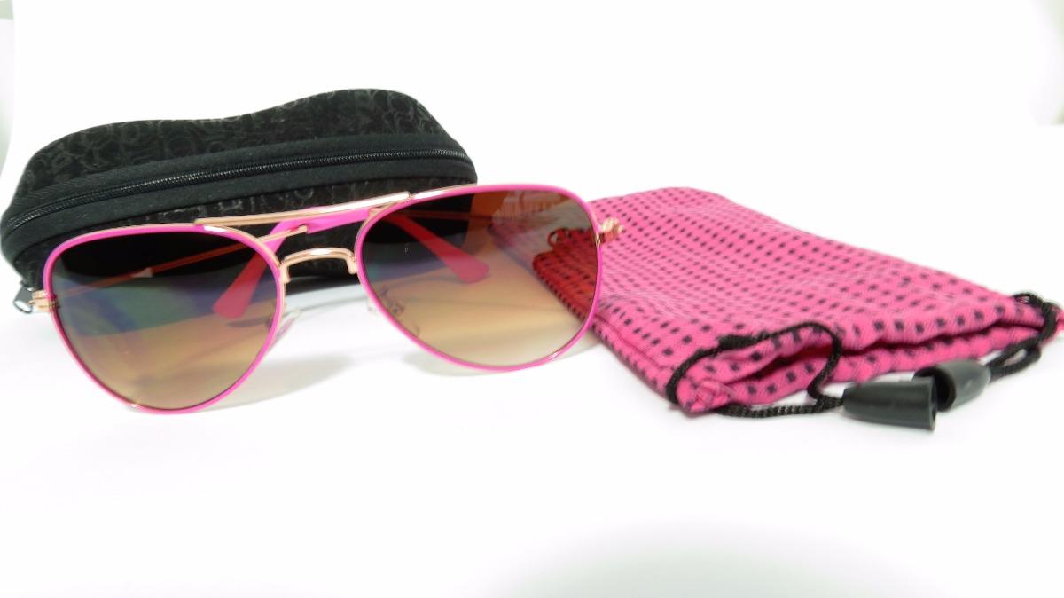 0e11778404 óculos de sol infantil feminino estilo ray-ban aviador. Carregando zoom.