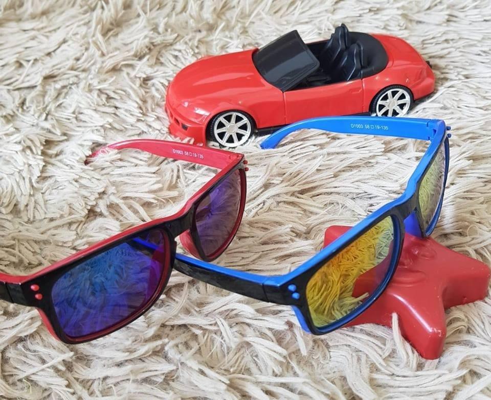 737316f235775 Óculos De Sol Infantil Flexível Criança Polarizado Unissex - R  29 ...
