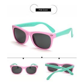 Óculos De Sol Infantil Flexivel Inquebrável Lente Polarizad