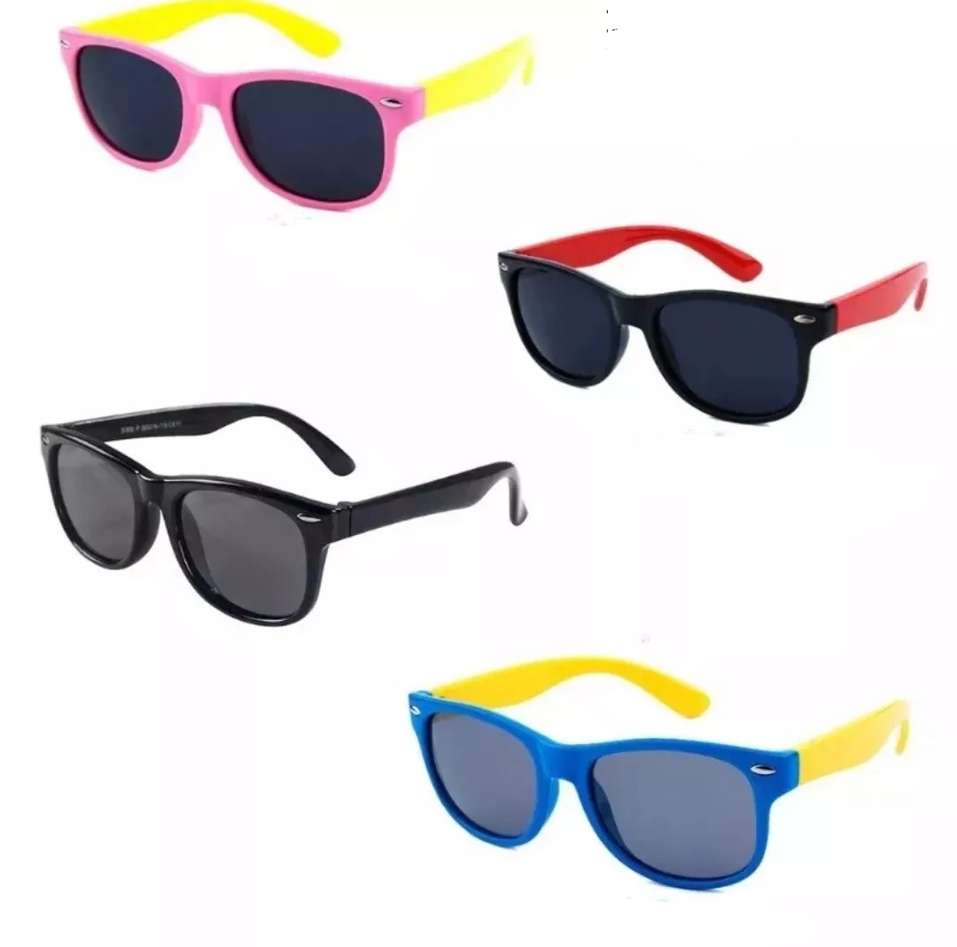 6ae4d56c5e21f Óculos De Sol Infantil Flexível Lente Polarizada 2-10 Anos - R  61 ...
