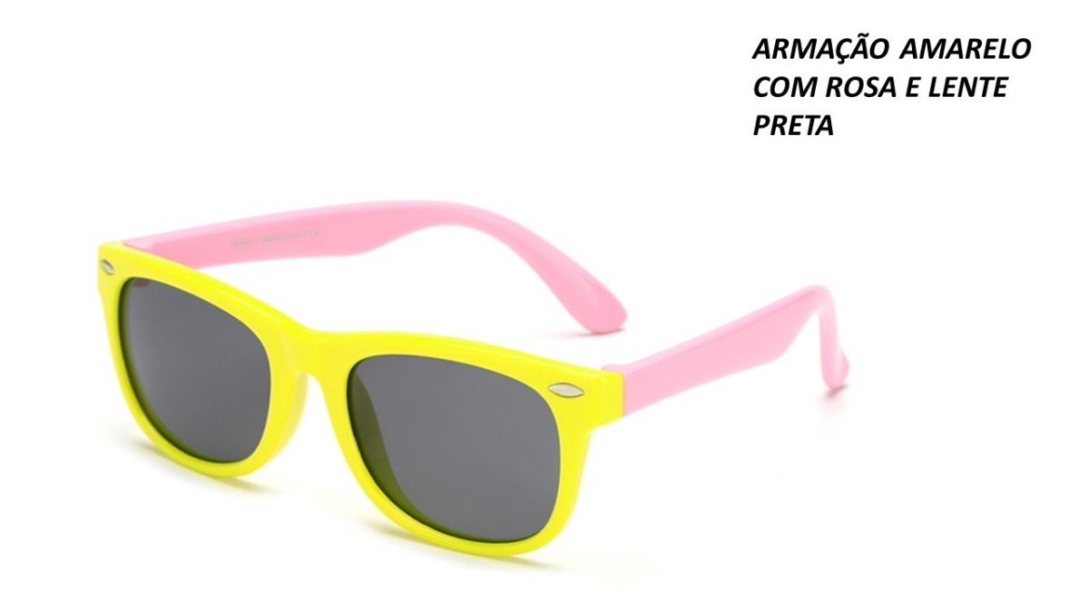 08bc08297395d óculos de sol infantil flexível - proteção uv   polarizado. Carregando zoom.
