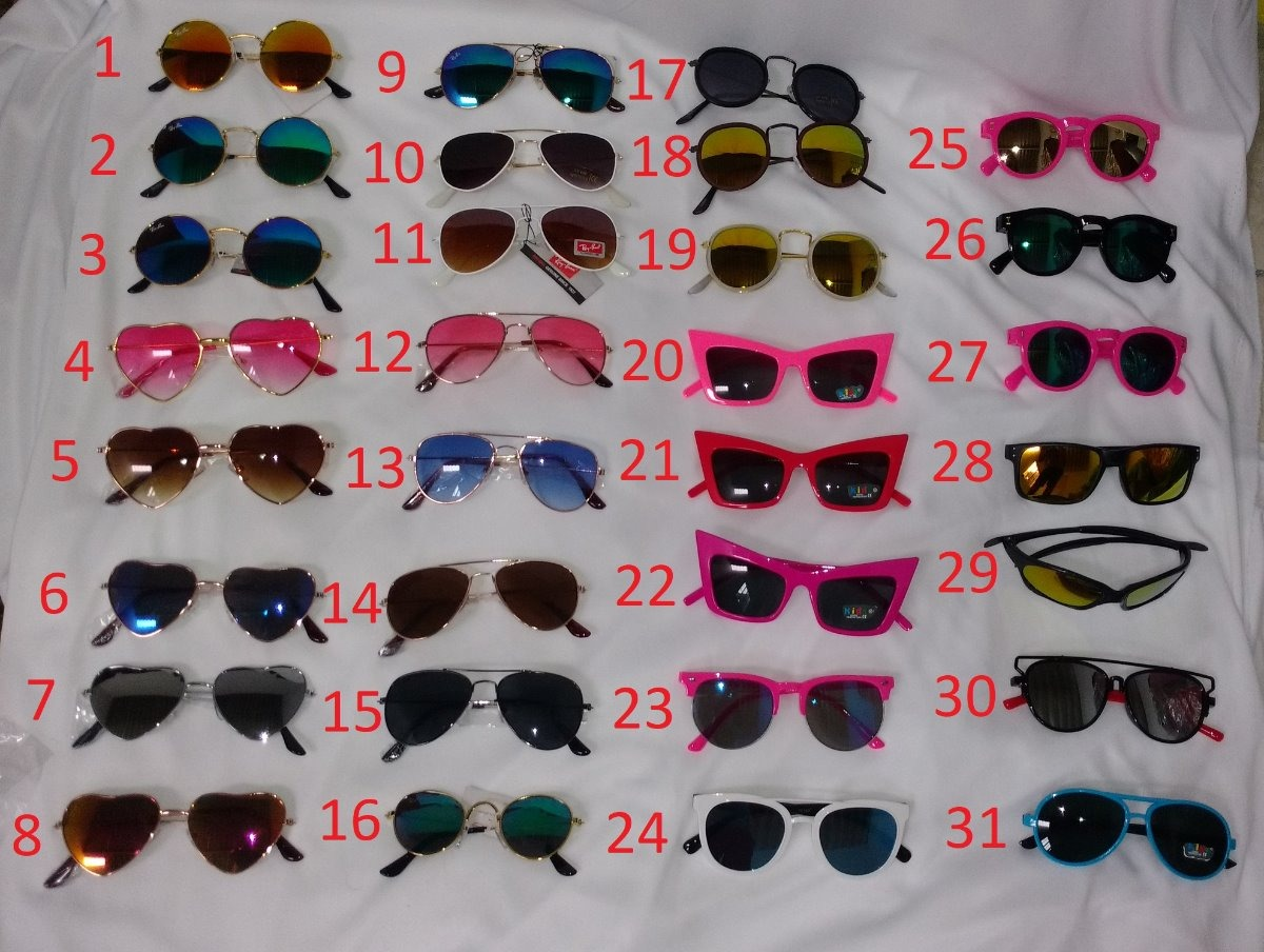 870196e6c52d4 óculos de sol infantil kids kit com 20 óculos uv400. Carregando zoom.