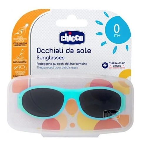 óculos de sol infantil little dog (0m+) chicco