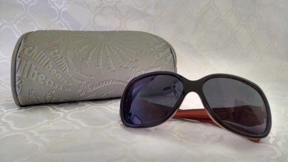 56d85ab2a Óculos De Sol Infantil (menina) Chilli Beans - R$ 48,00 em Mercado Livre