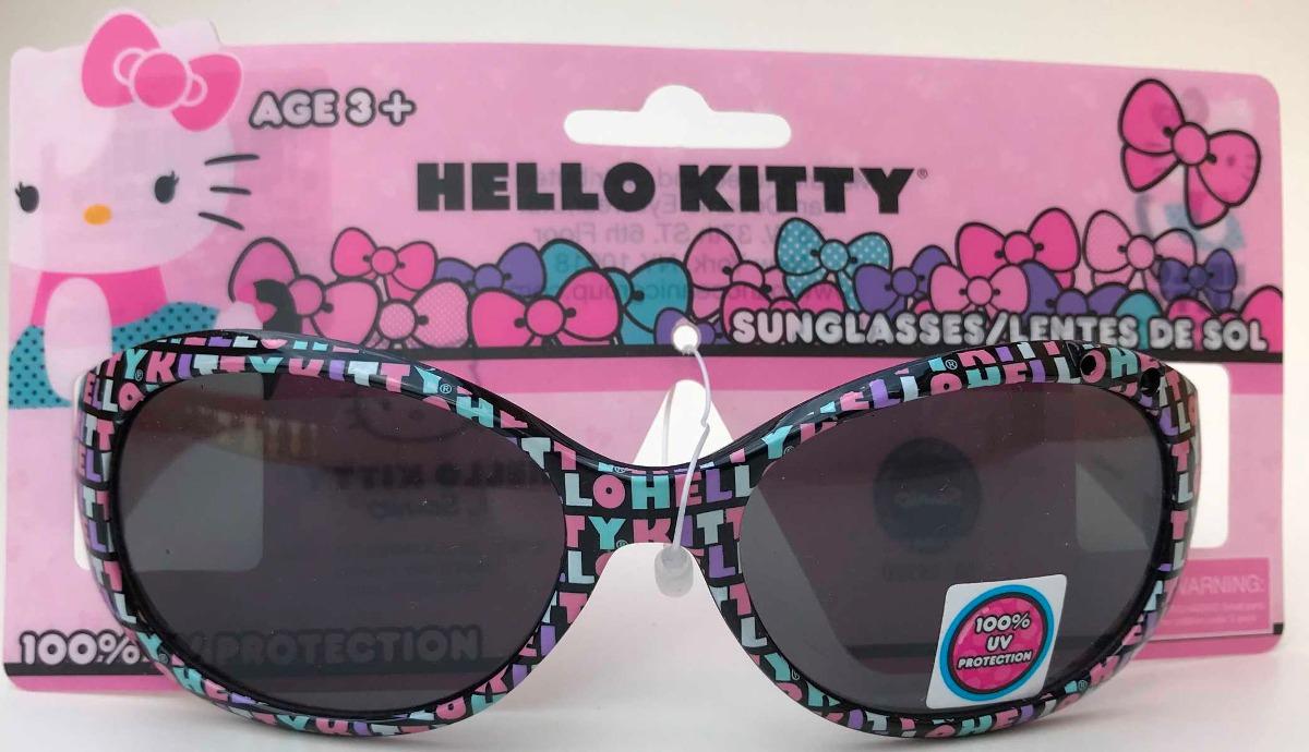 Oculos De Sol Infantil Menina Hello Kitty C22 Frete Baixo - R  79 0c951dd426b