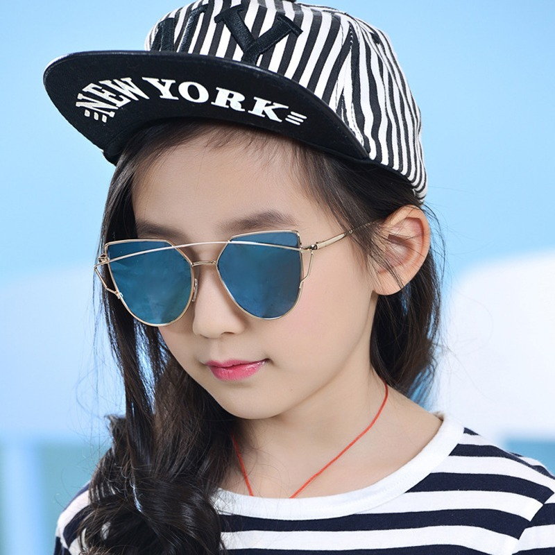 Óculos De Sol Infantil Meninas Olho De Gato Twin Vigas - R  48,50 em ... de16ad8f27