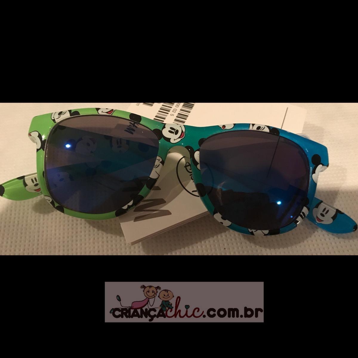 662fe4f665614 Óculos De Sol Infantil Mickey Importado H m - R  85,00 em Mercado Livre