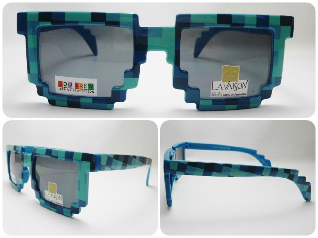 Óculos De Sol Infantil Minecraft Azul - R  39,90 em Mercado Livre 71dd98f27d