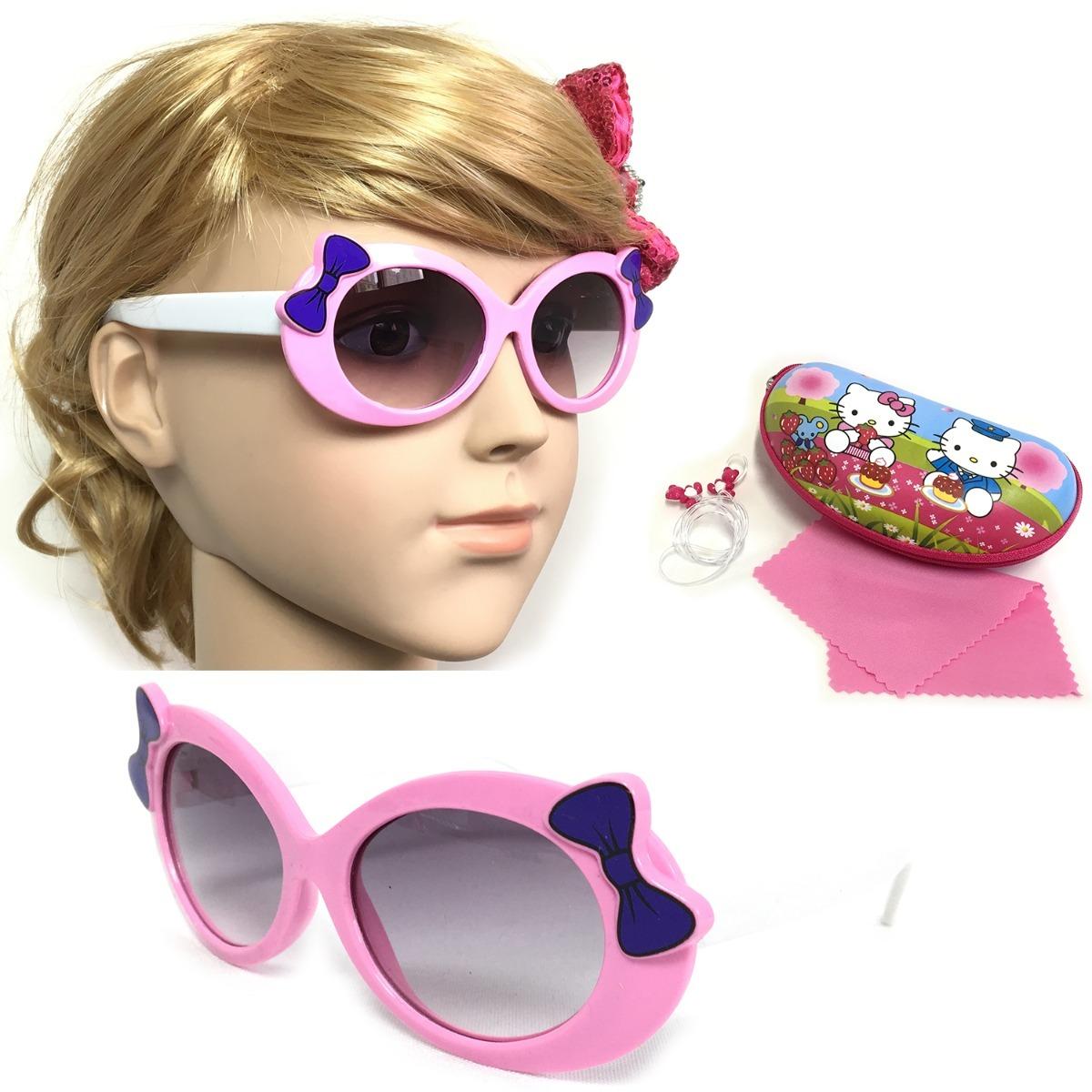 óculos de sol infantil plastico silicone menina lm006 uv400. Carregando  zoom. 9461113905