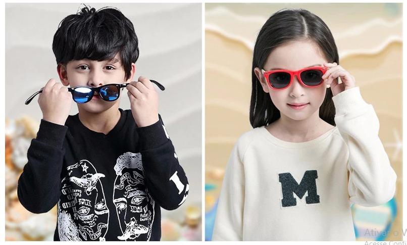 2950627c5e54d óculos de sol infantil polarizado unissex flexível. Carregando zoom.