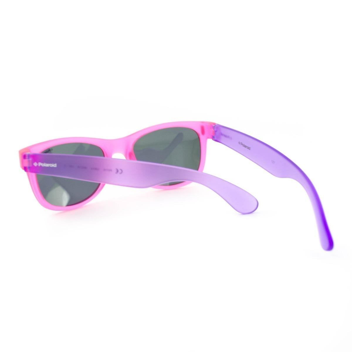 óculos de sol infantil polaroid kids - p0115 iuby2 - rosa. Carregando zoom. e74df3b613
