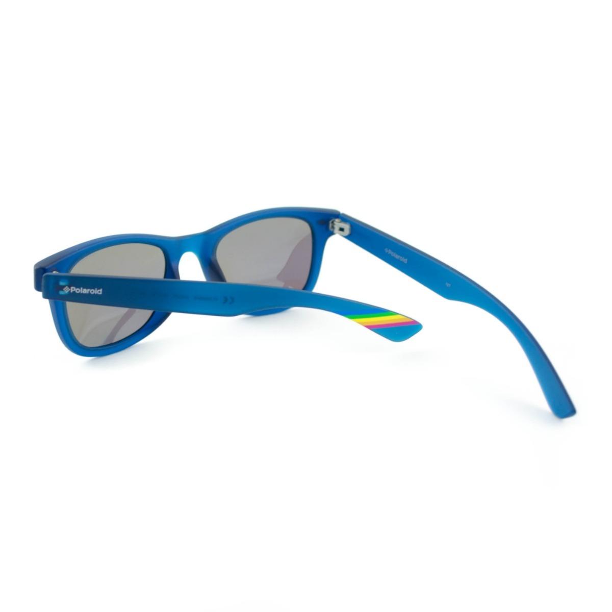 óculos de sol infantil polaroid kids - pld8009 n ujojy azul. Carregando  zoom. 299b2a6621
