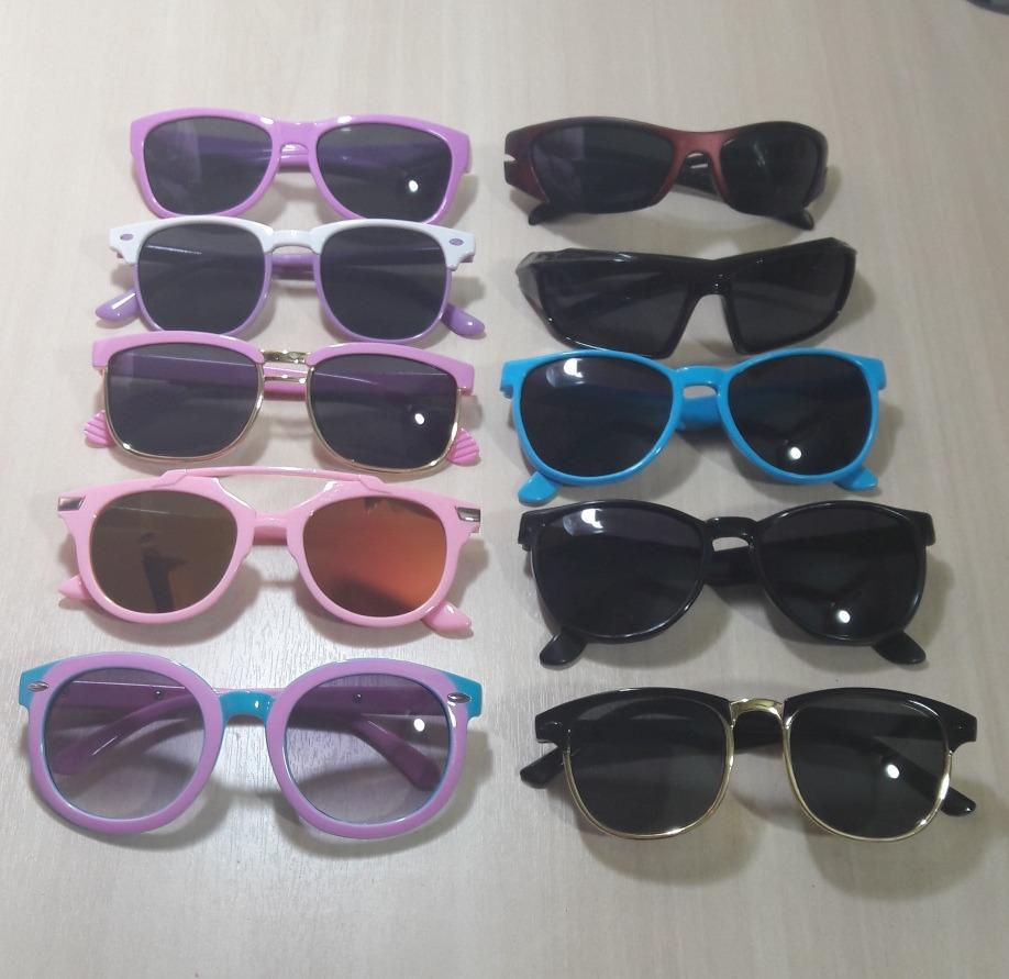 903ba1da0 óculos de sol infantil pra revenda atacado 10 peças + brinde. Carregando  zoom.