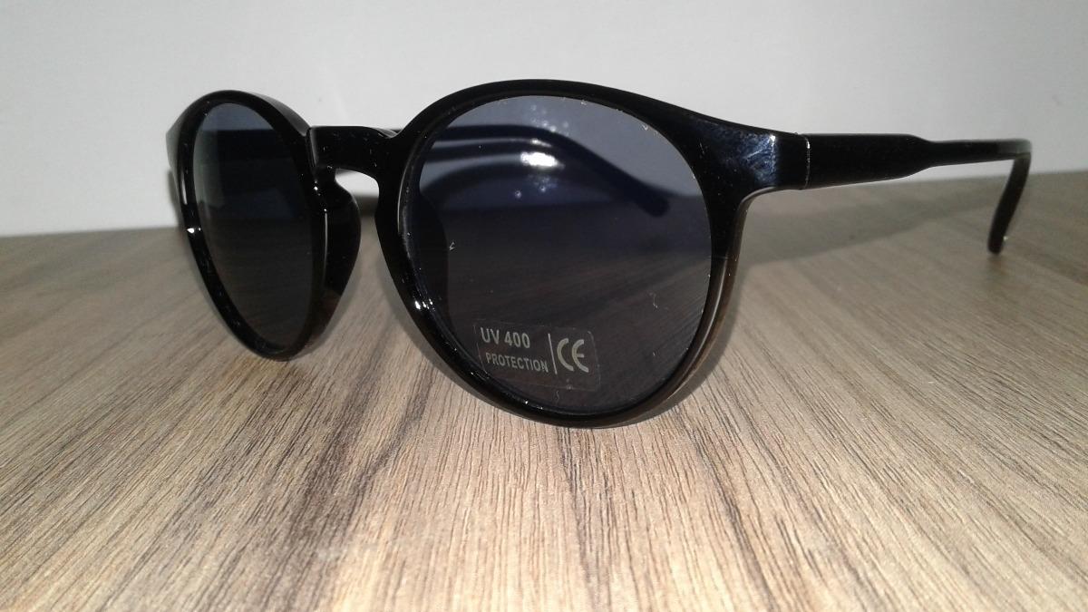 óculos de sol infantil redondo preto até 7 anos com proteção. Carregando  zoom. ed24a76817