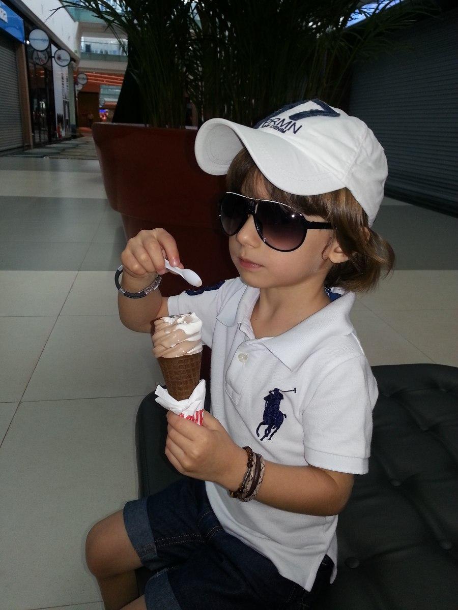 oculos de sol infantil unissex lindo (menina e menino) uv400. Carregando  zoom. 2a48b6a00e