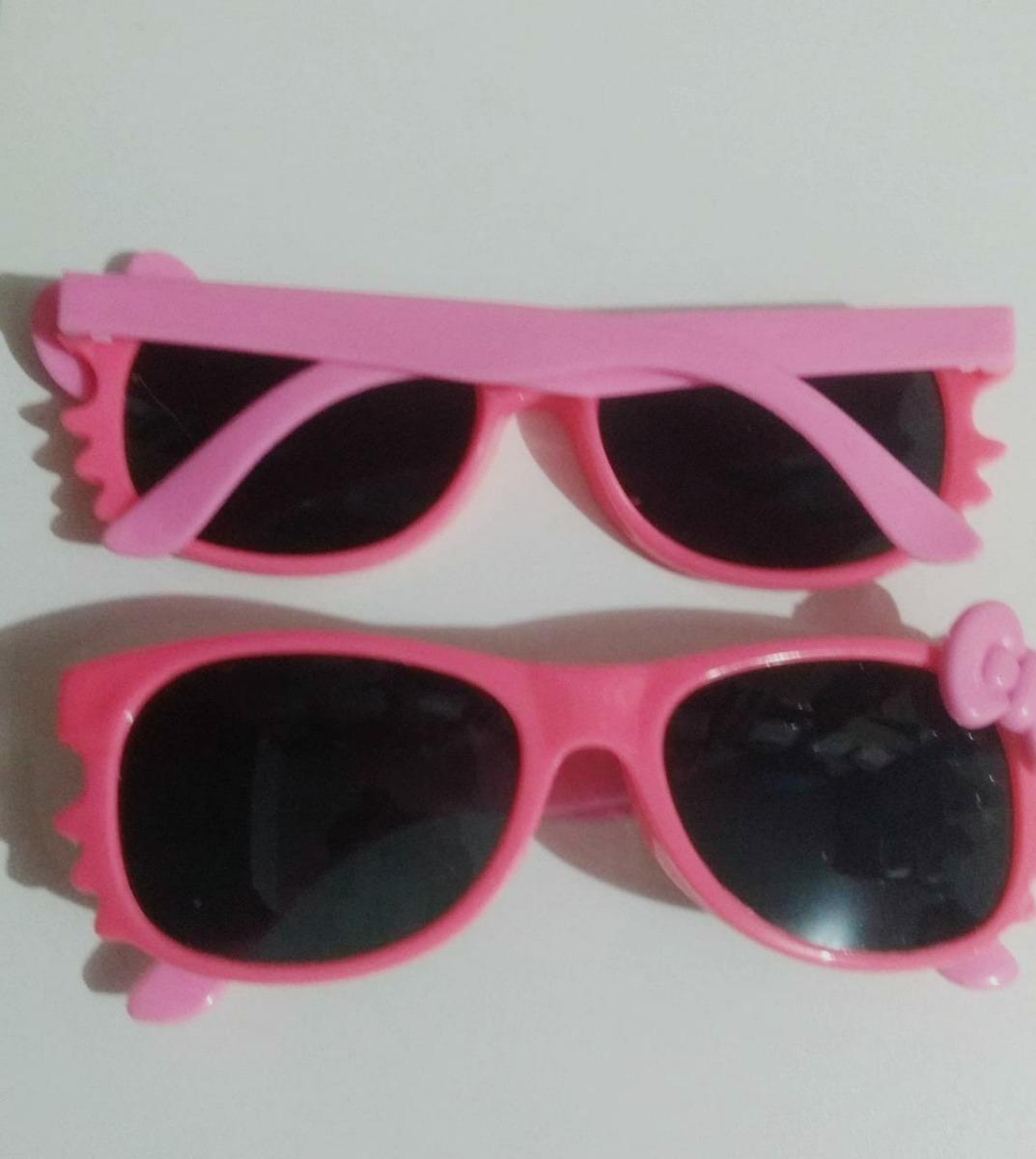 óculos de sol infantil verão bebê menina gatinha kitty rosa. Carregando  zoom. 9ea8201f14