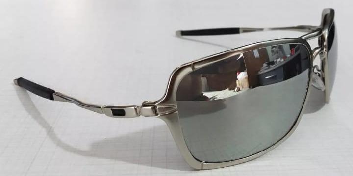 372a67b6f Oculos De Sol Inmate Metal Com Plaquetas Espelhado Promoçâo - R$ 104 ...
