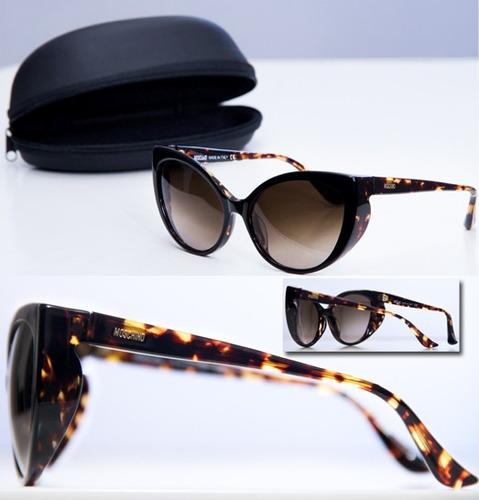 óculos de sol italiano - moschino