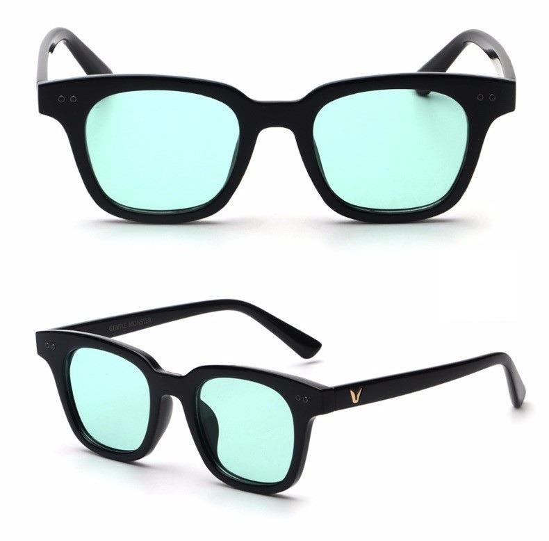 Óculos De Sol Jovem Fashion Lentes Coloridas Proteção Uv400 - R  109 ... 4d2f347e53