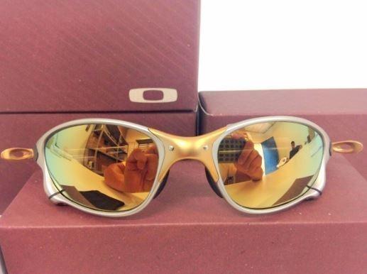 1d8e1c00d Óculos De Sol Juliet Doble X Gold 24k Oferta Frete Gratis - R$ 120 ...