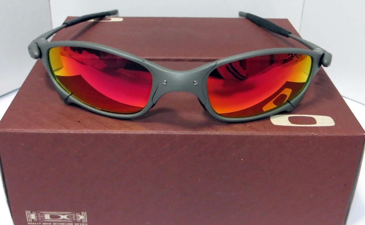 oculos de sol juliet ruby xmetal romeo2 doublex 24k tio2. Carregando zoom. 0a86882988