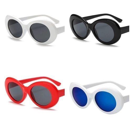 c8e6c6fe6ba05 Óculos De Sol Kurt Cobain Masculino Feminino Proteção Uva - R  37,00 ...