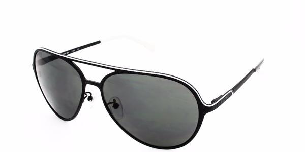 4db8d52f1b728 Óculos De Sol Lacoste L106s 001 Preto Aviador - R  329