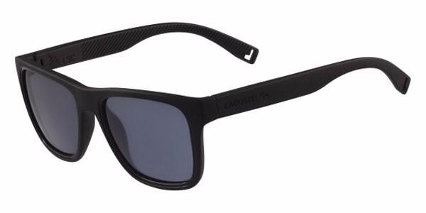 97c31f28f2b82 Óculos De Sol Lacoste L816s 001 Preto Fosco - R  610