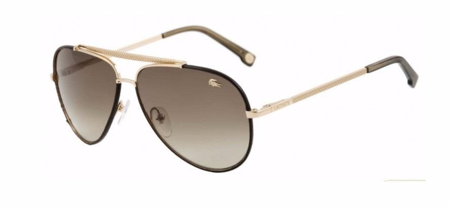 Óculos De Sol Lacoste Original 171 Sl Em Couro 714 - R  675,00 em ... 84d263d9bc