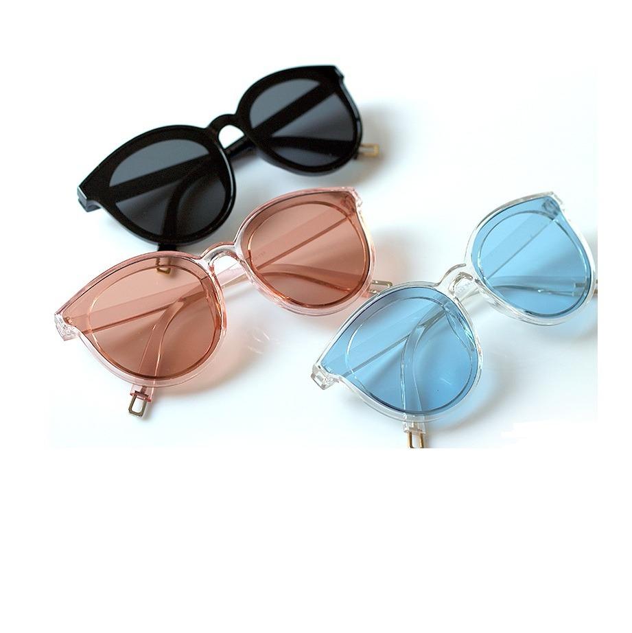 a0103e708cc1c Óculos De Sol Lente Colorida Transparente - R  40,00 em Mercado Livre