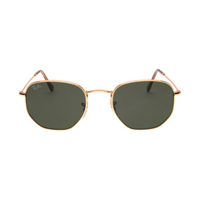 97a72b386 Oculos Ray Ban Hexagonal Lentes Cristal De Sol - Óculos no Mercado ...