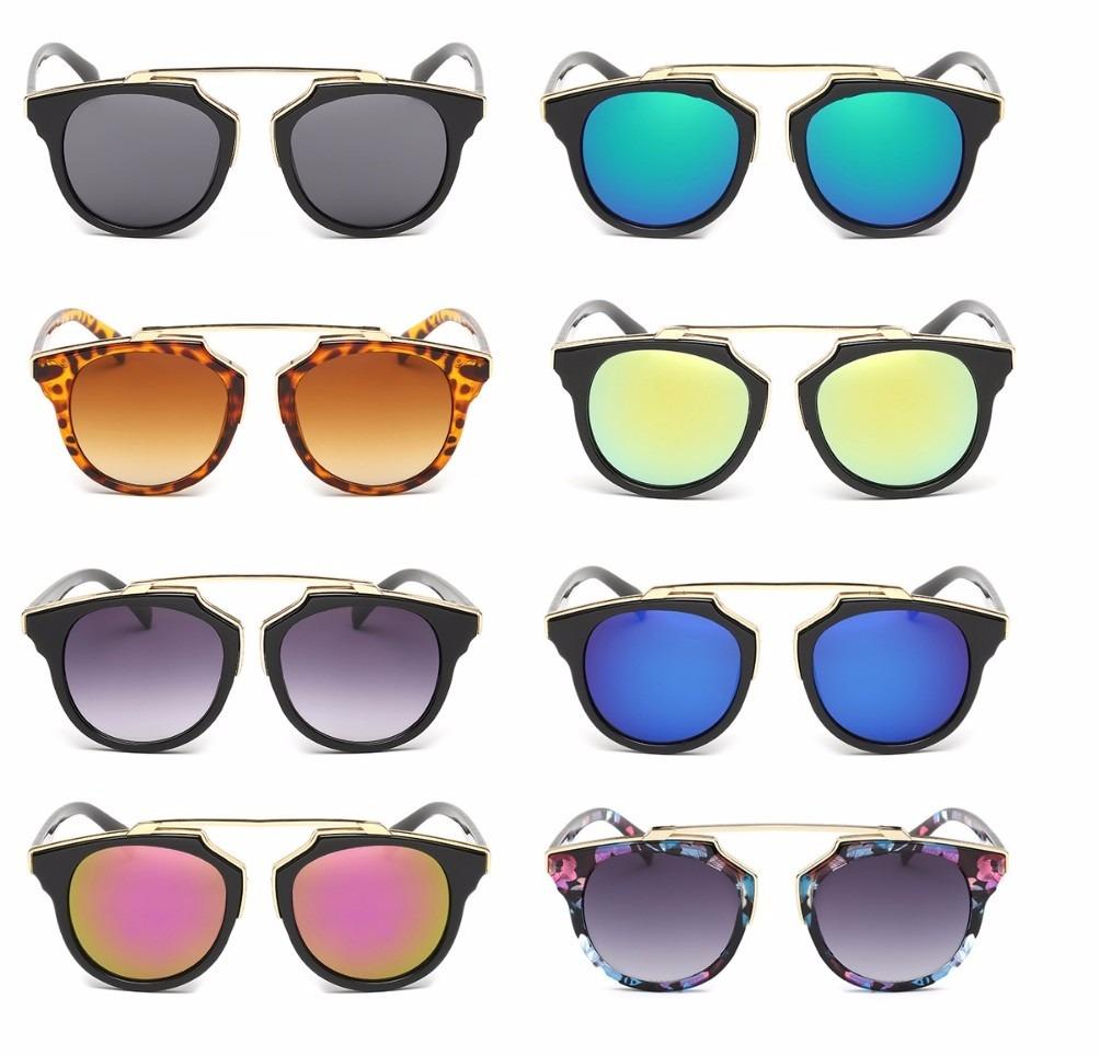 oculos de sol lente espelhado olho de gata cat triangulo top. Carregando  zoom. 43503221a4