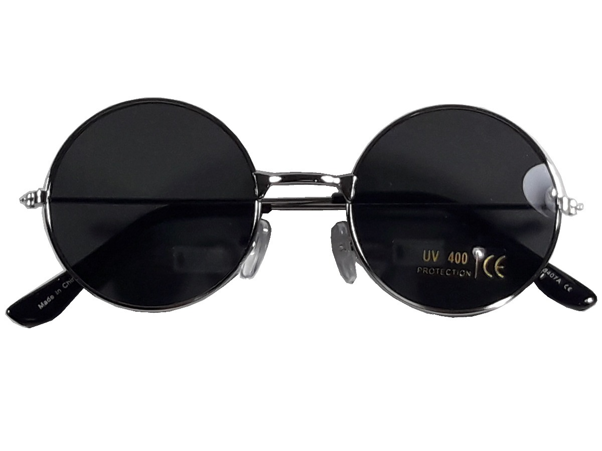 f1d190b02d1a9 óculos de sol lente redonda modelo retrô modelo ozzy lennon. Carregando  zoom.