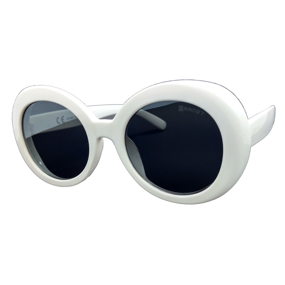 a549dae6f1720 óculos de sol lente uva garnet redondo flat acetato branco. Carregando zoom.