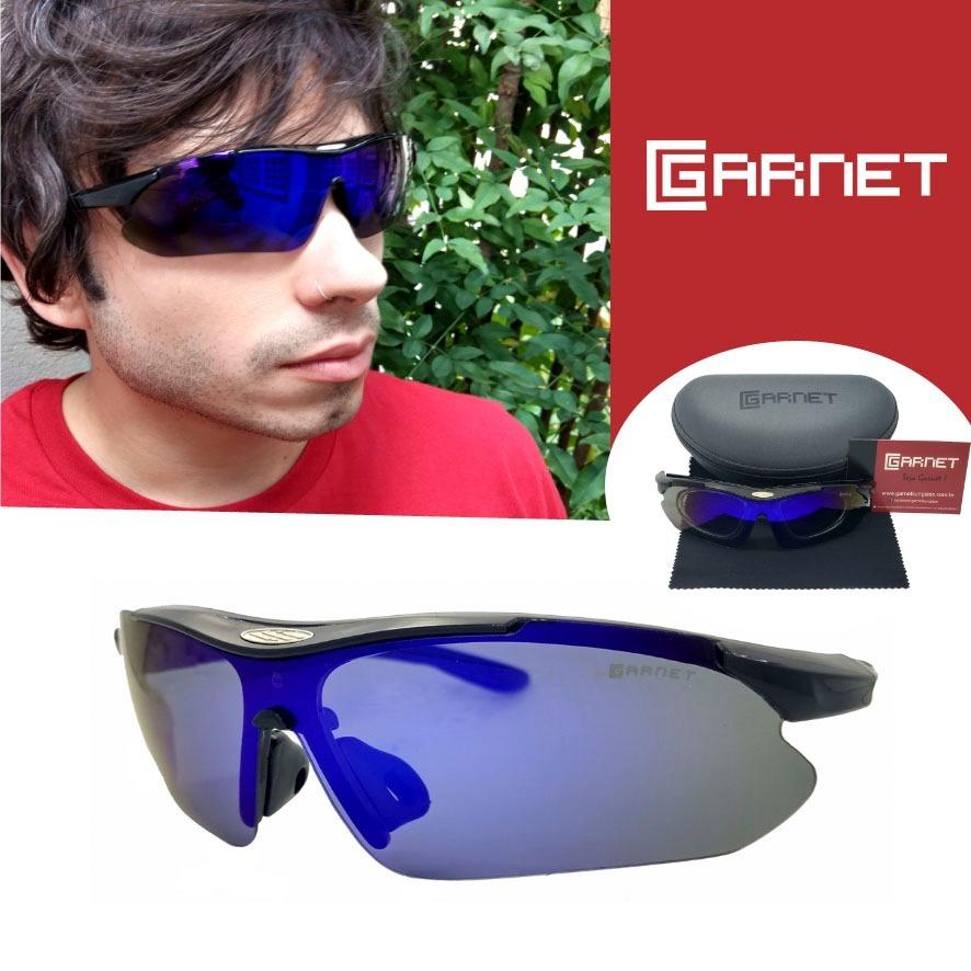 5e4b4a7d91b88 óculos de sol lente uva polarizado p  colocar grau ciclista. Carregando zoom .